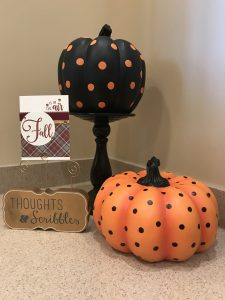Fall card made with Autumn Air stamp set