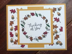 Woodland Greetings card