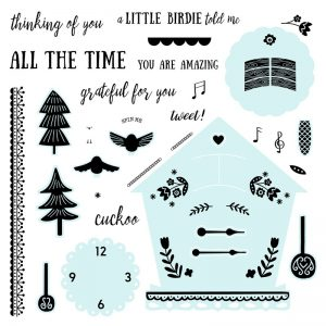Around the Clock stamp set