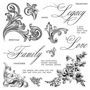 Family Legacy stamp set