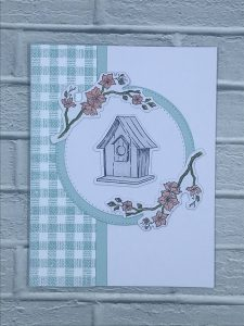 All Occasion Feminine Card from Winged Wishes stamp set