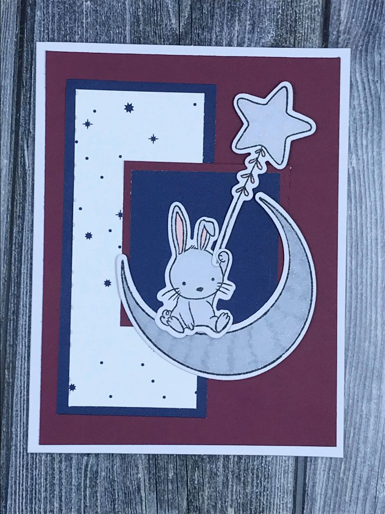 Snuggle Up Baby card