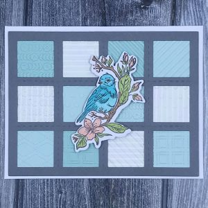 Card Created from Paper Scraps