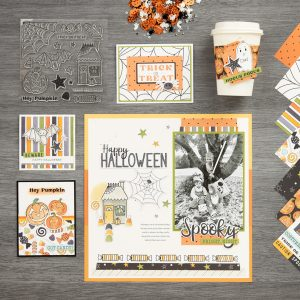 Got Candy Halloween Papercrafting Collection