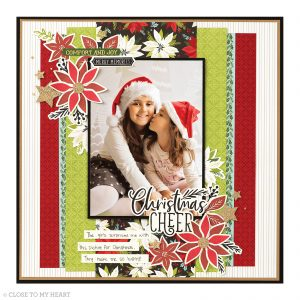 Holiday Scrapbook Page