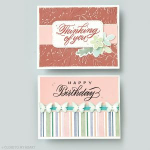 Sentiments cards