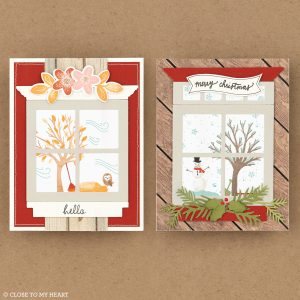 Seasonal Scenes cards