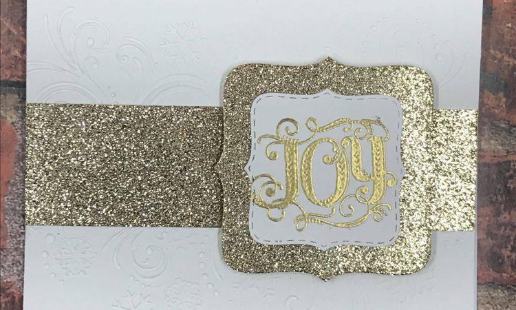 Flourished Joy card