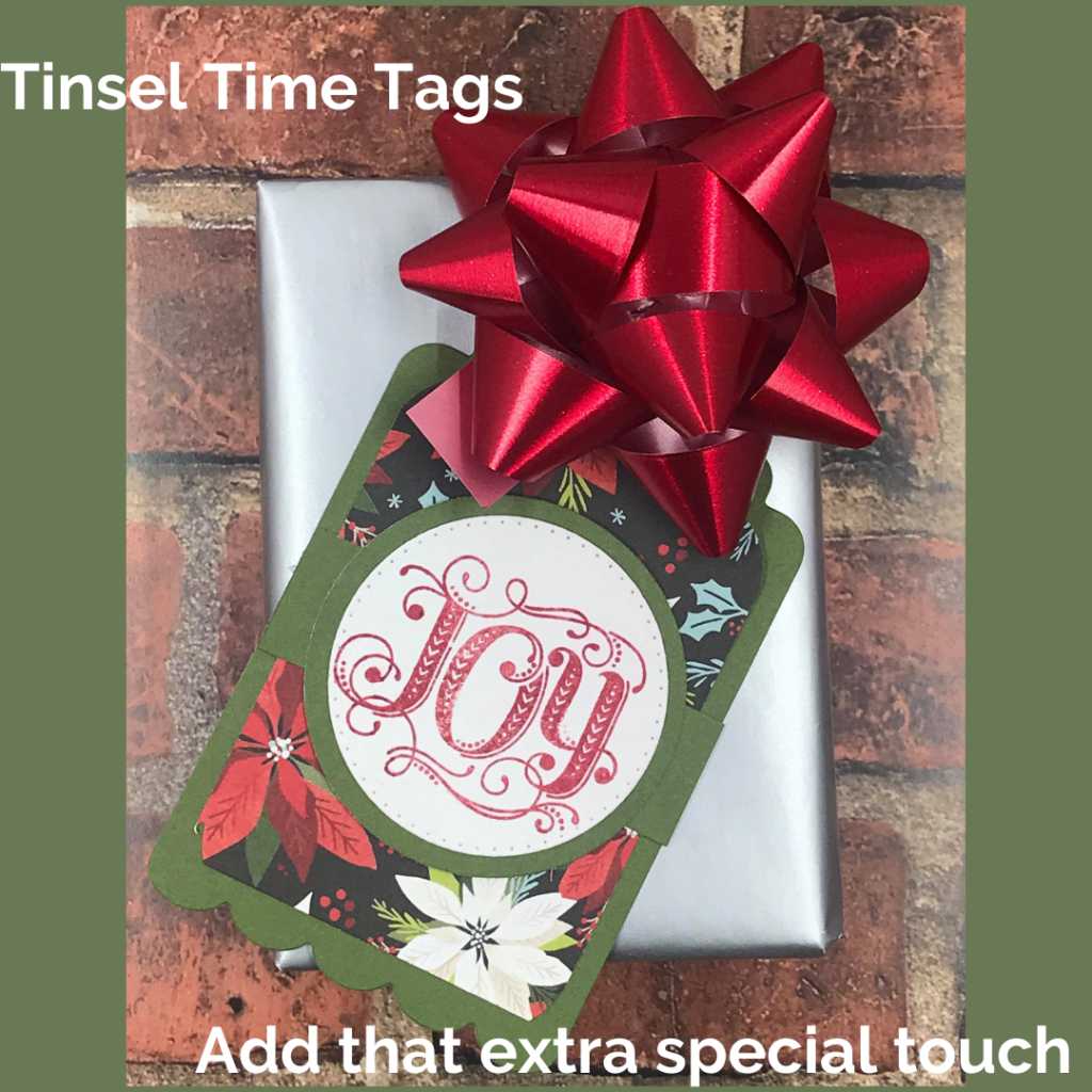 Tinsel Time Tags
